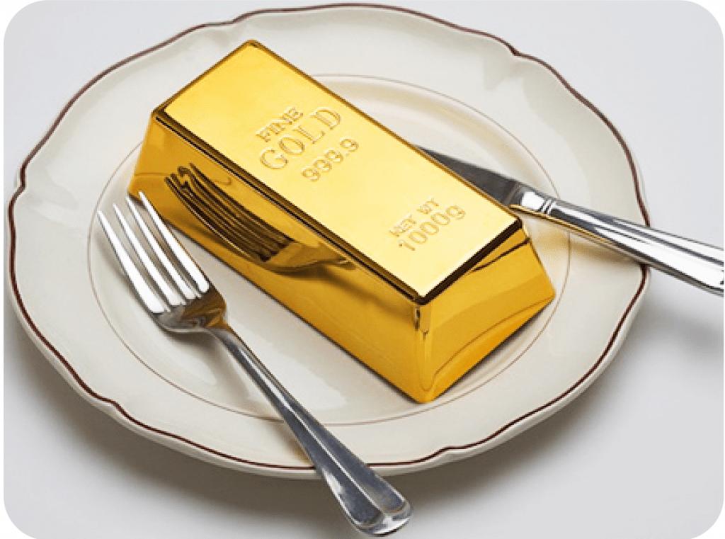 خوراکی های طلایی طلاین