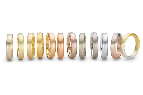 انواع رنگ طلا طلاین