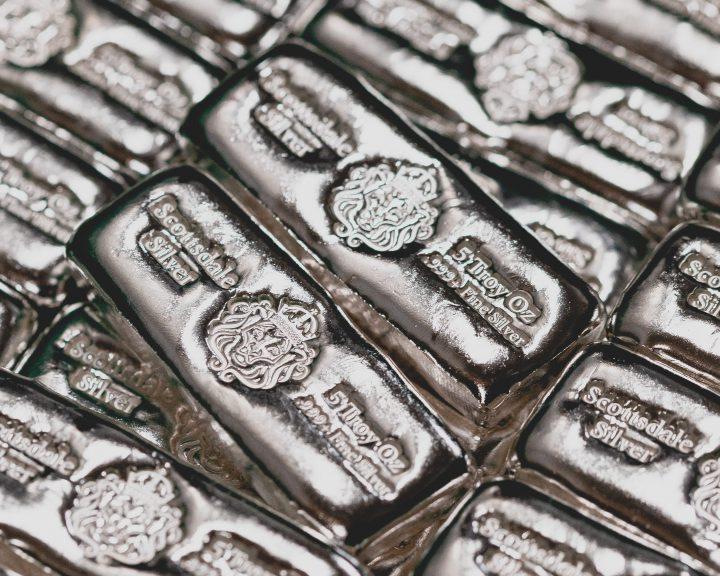 نقره فلز گران بها طلاین